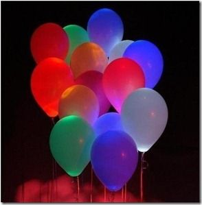 glow in the dark balloons