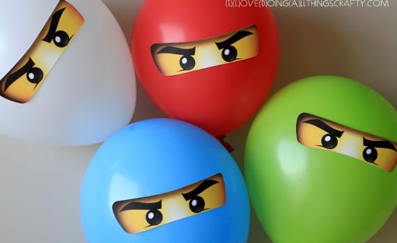 Ningajo Bday Balloon Stickers (ILDAthingscrafty)