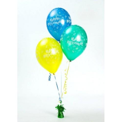 Balloon centrepiece retirement